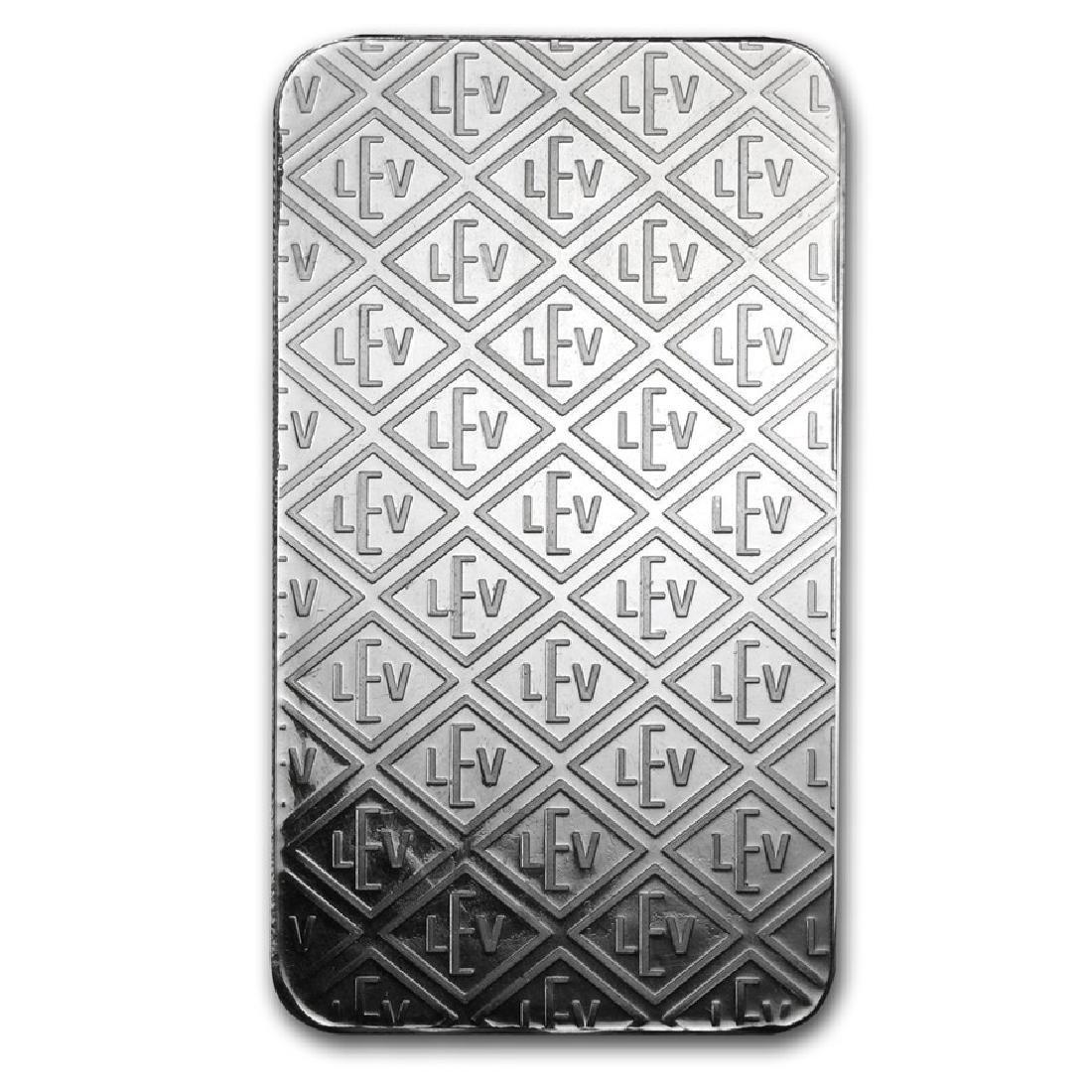 Genuine 10 oz 0.999 Fine Silver Bar - Geiger Security - 2