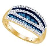 070 TCW Blue Diamond  White Diamond Striped Cocktail