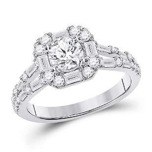 Diamond Solitaire Bridal Wedding Engagement Ring 1-3/4