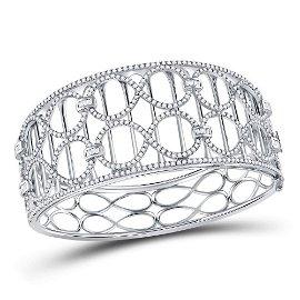 Round Diamond Fashion Cocktail Bracelet 4 Cttw 14KT