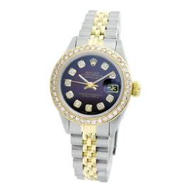Rolex Pre-owned 26mm Womens Custom Brown Vignette Two