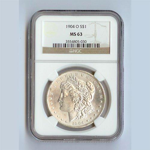 1904 Morgan Silver Dollar MS63 NGC Certified - N1904