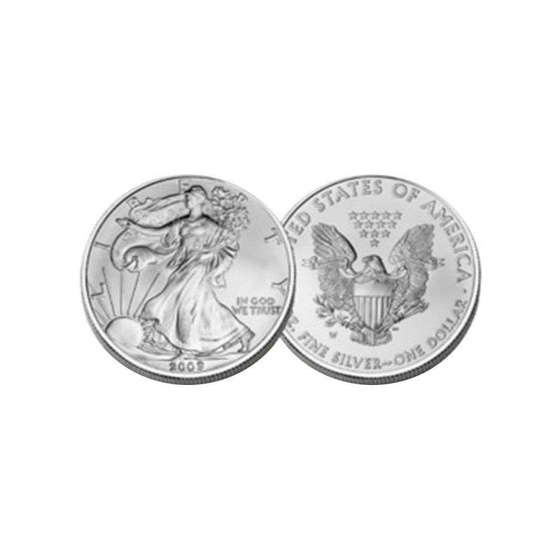 BRILLIANT UNCIRCULATED 1oz Silver American Eagle - Rand