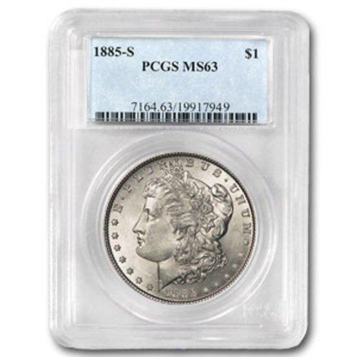 1885 Morgan Silver Dollar MS63 PCGS Certified - P1885