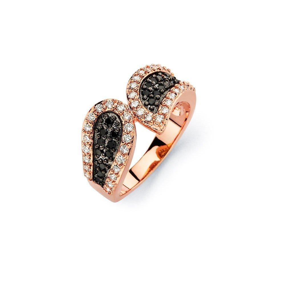 Silver Rings CZ .925 Ladies Sterling Jewelry bgr00581