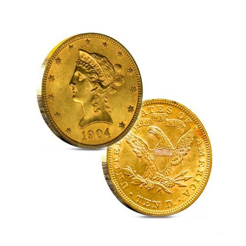 $10 Liberty Gold - Eagle - 1838 to 1907 - Random date