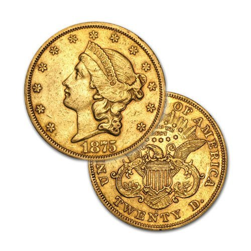 $20 Liberty Gold - Double Eagle - 1850 to 1907 - Random