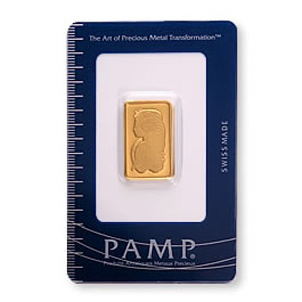 Pamp Suisse Gold Bar 10 grams - .9999 Fine Gold