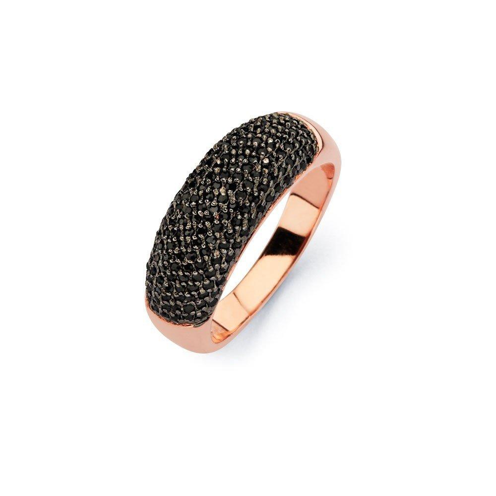 Silver Rings CZ .925 Ladies Sterling Jewelry bgr00583