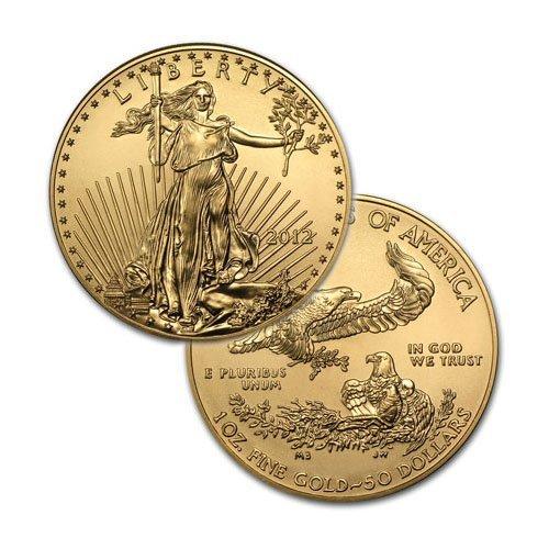Brilliant Uncirculated $50 1oz Gold American Eagle -