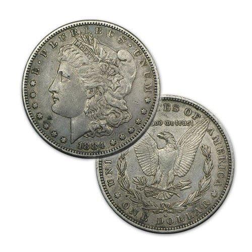 Morgan Silver Dollar Coin - Random date - Average