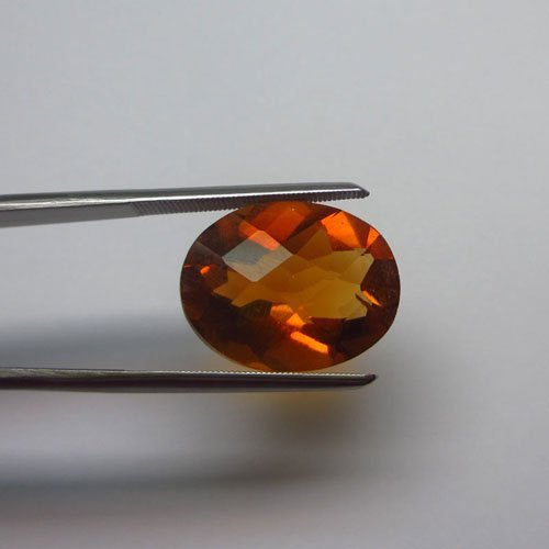Loose Natural Citrine Oval 12mm x 10mm VERY NICE color