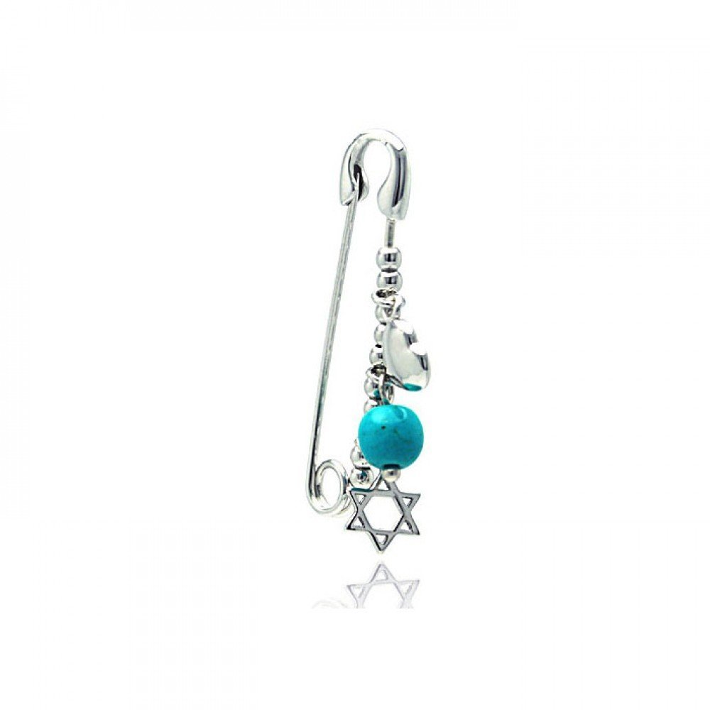 Silver Brooches Pins .925 Ladies Sterling Jewelry