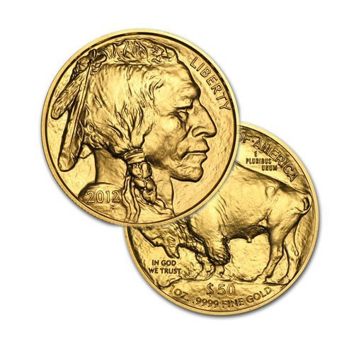 Brilliant Uncirculated $50 1oz Gold American Buffalo -