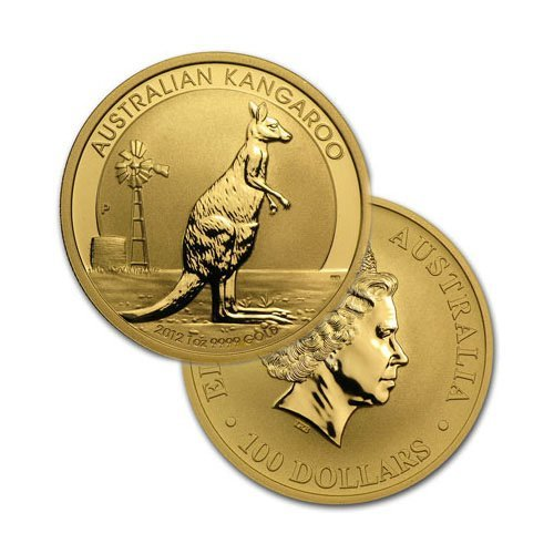 Brilliant Uncirculated 1oz Australian Gold Kangaroo -
