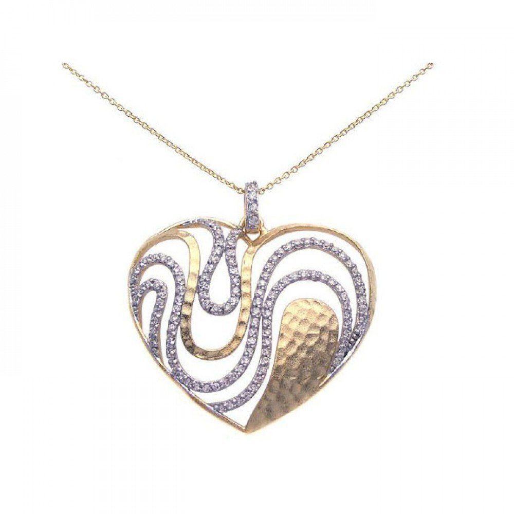 Silver Necklace .925 Ladies Sterling Jewelry stp00948
