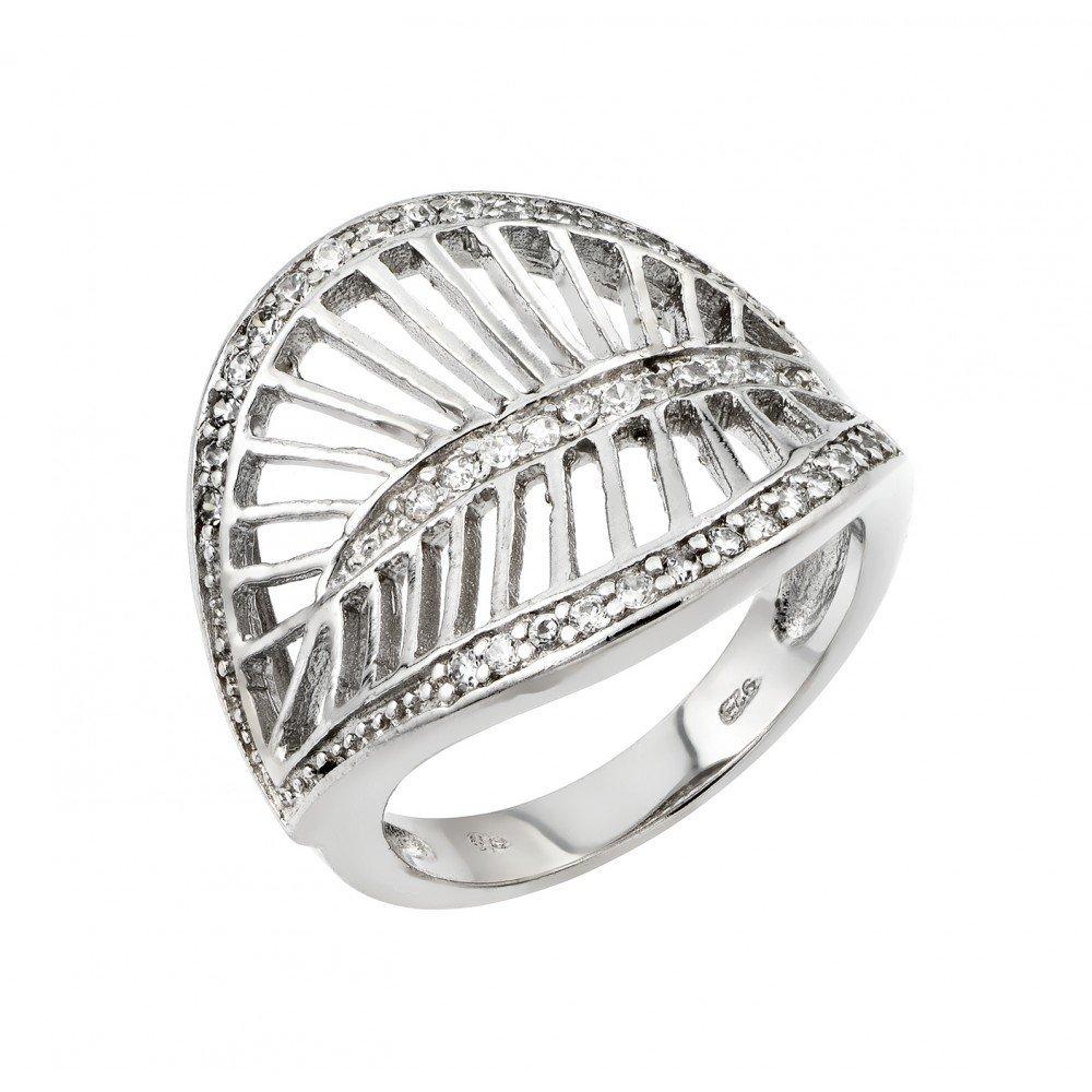 Silver Rings .925 Ladies Sterling Jewelry str00972