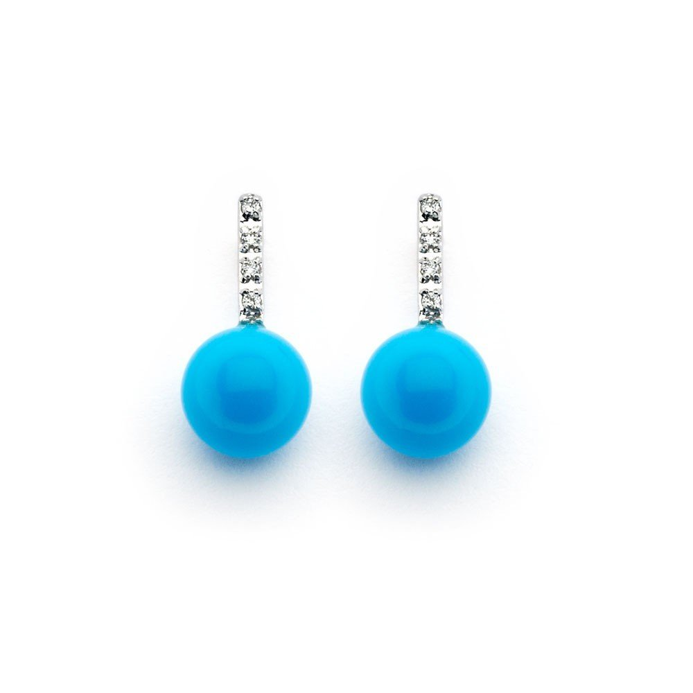 Silver Stud Earrings .925 Sterling Jewelry bge00345