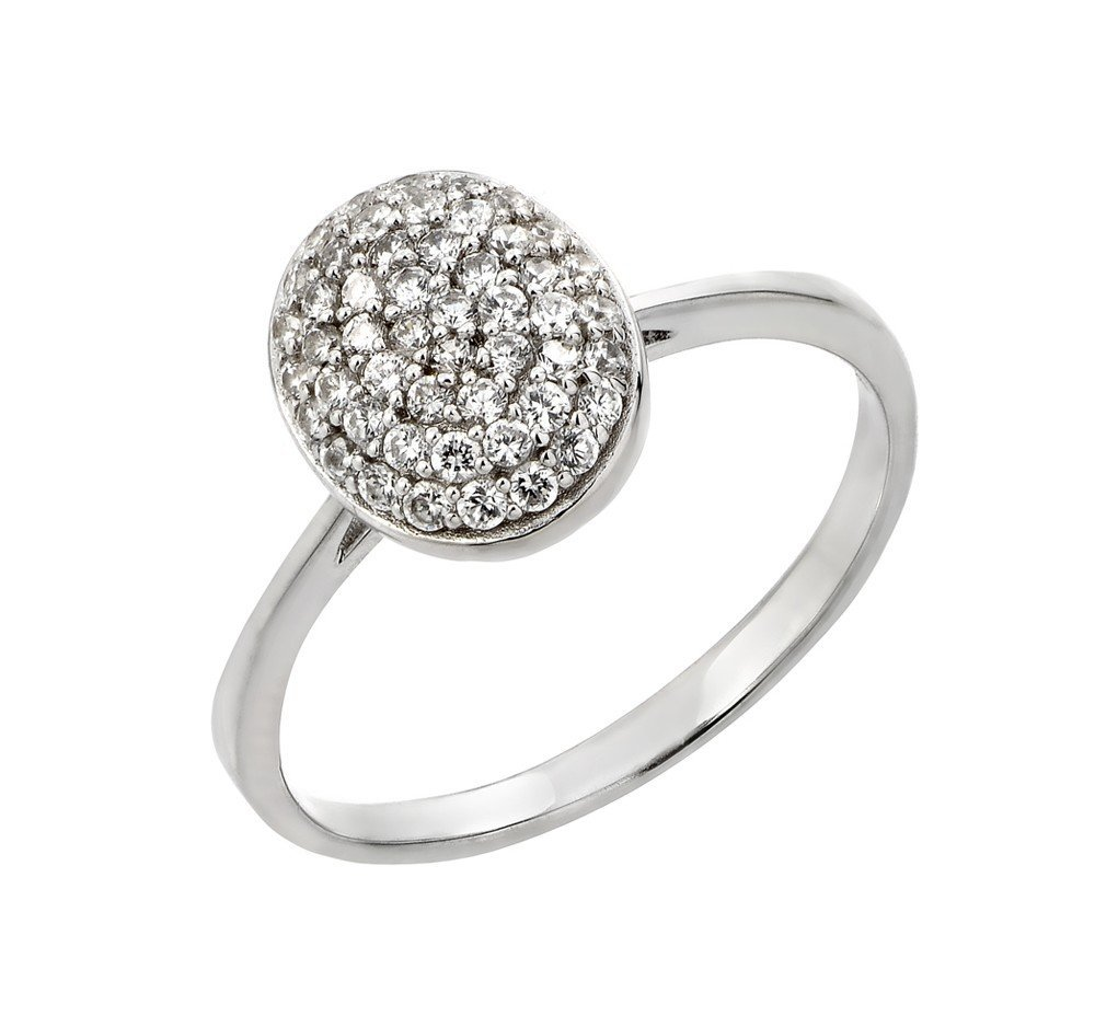 Silver Rings .925 Ladies Sterling Jewelry str00926