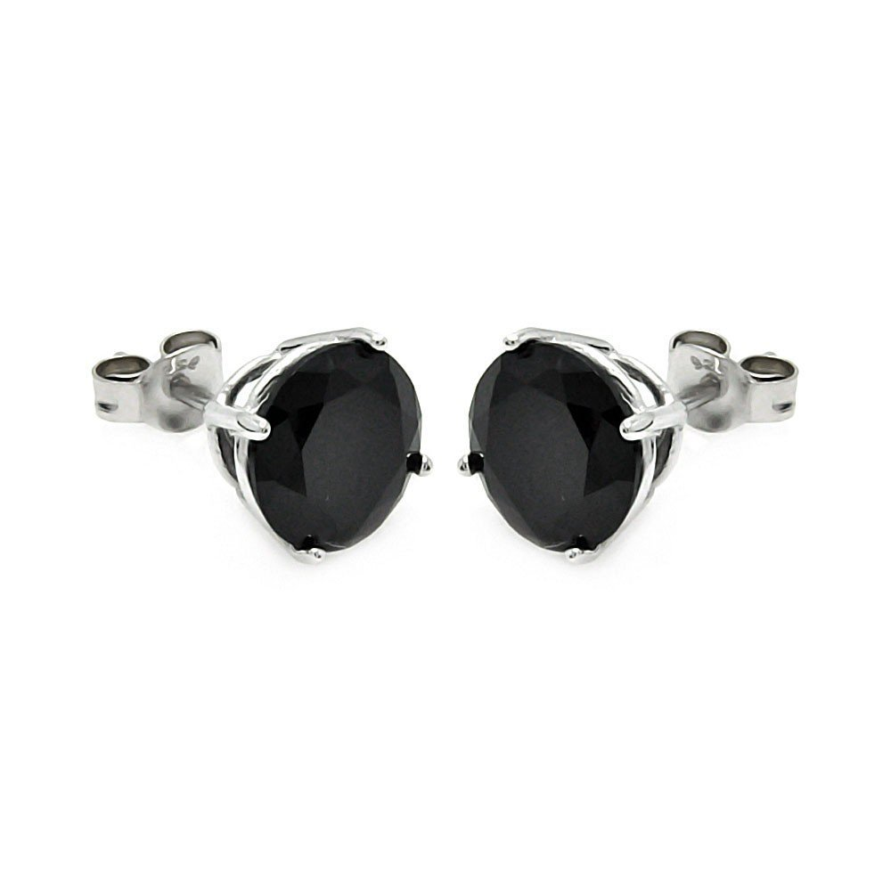 Silver Stud Earrings 925 Sterling Jewelry