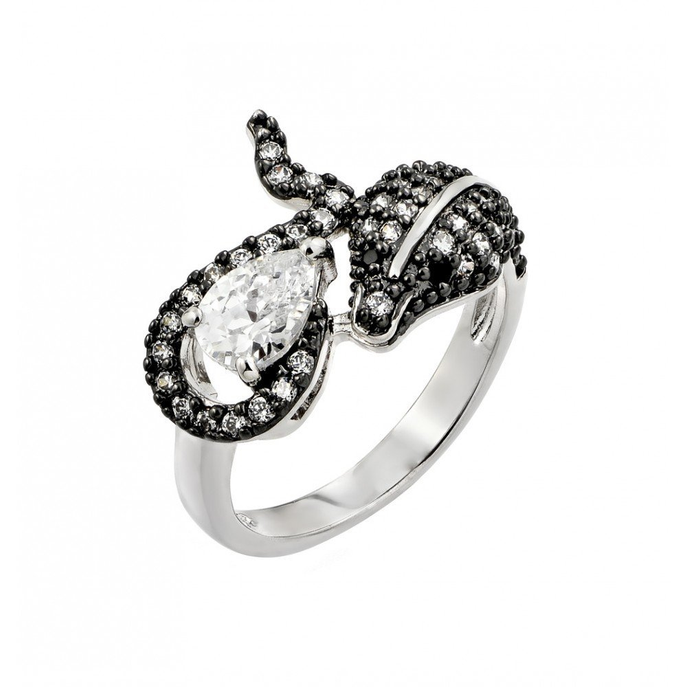 Silver Rings .925 Ladies Sterling Jewelry bgr00776
