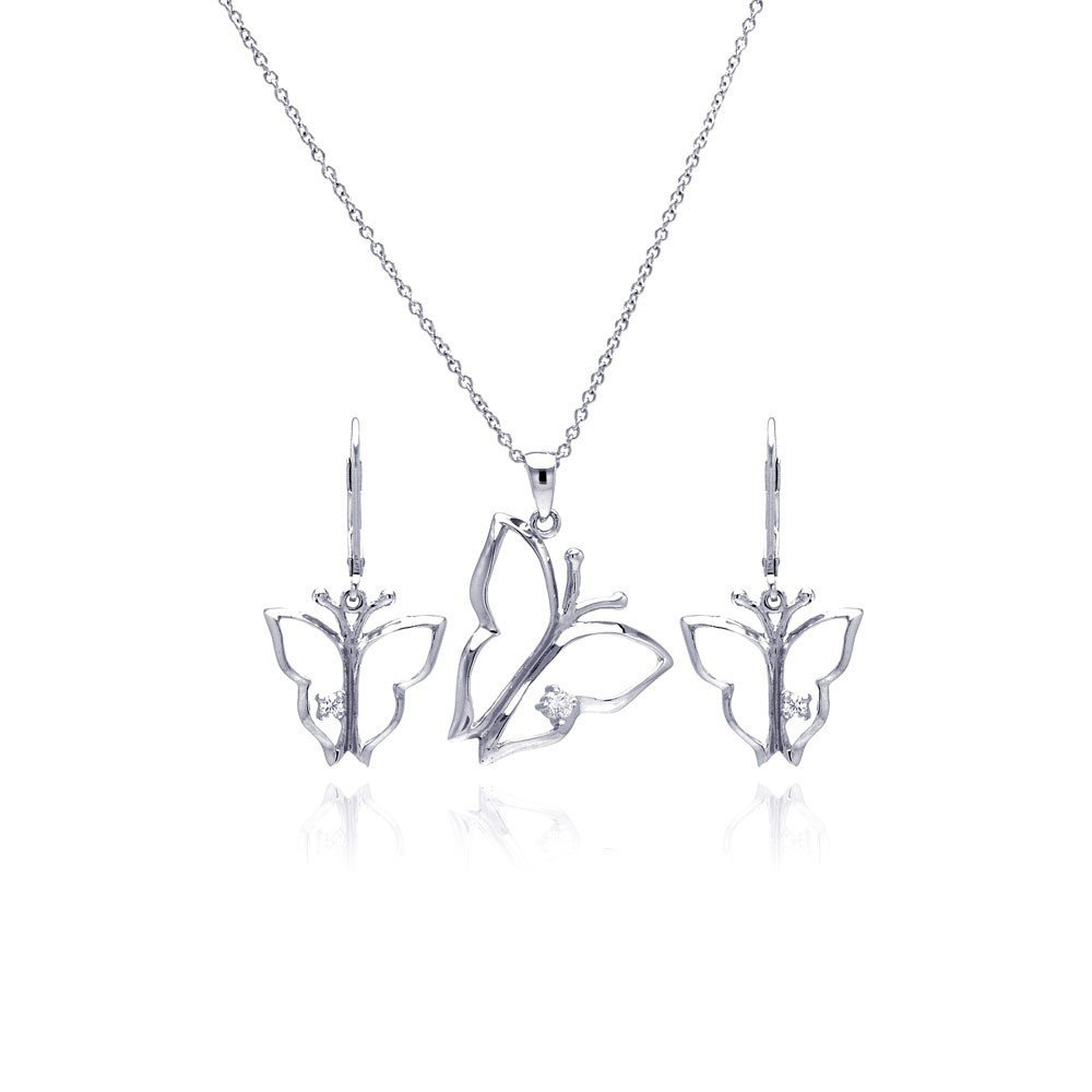 Silver Necklace .925 Ladies Sterling Jewelry sts00265