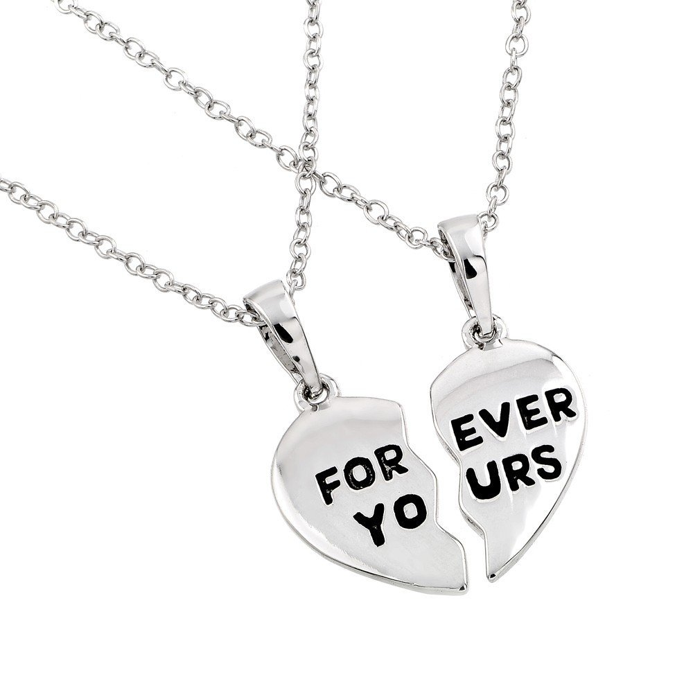 Silver Necklace .925 Ladies Sterling Jewelry bgp00767