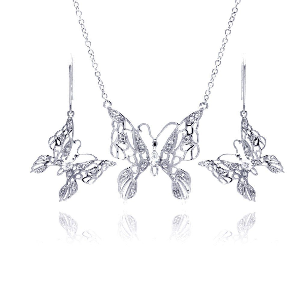 Silver Necklace .925 Ladies Sterling Jewelry bgs00131