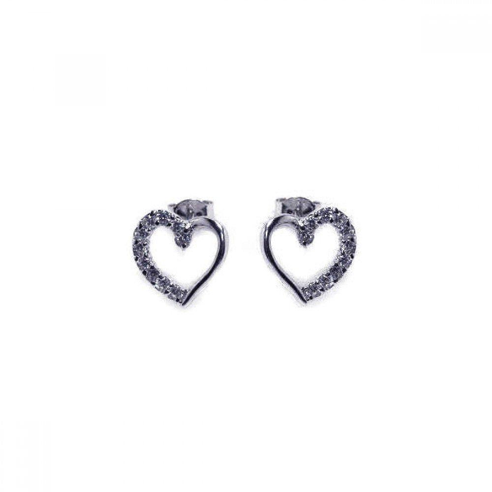 Silver Stud Earrings .925 Sterling Jewelry bge00013