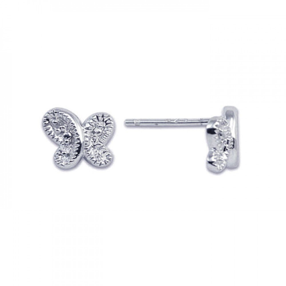Silver Stud Earrings .925 Sterling Jewelry ste00121