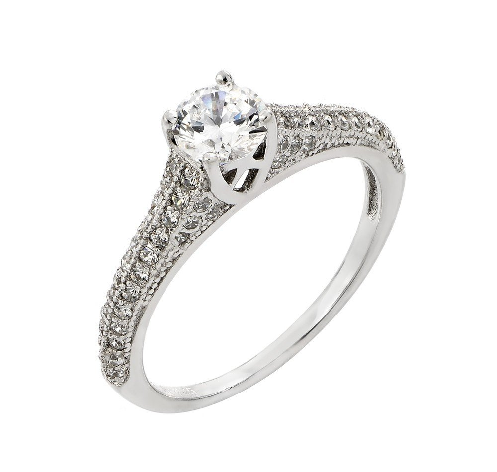 Silver Rings .925 Ladies Sterling Jewelry str00927