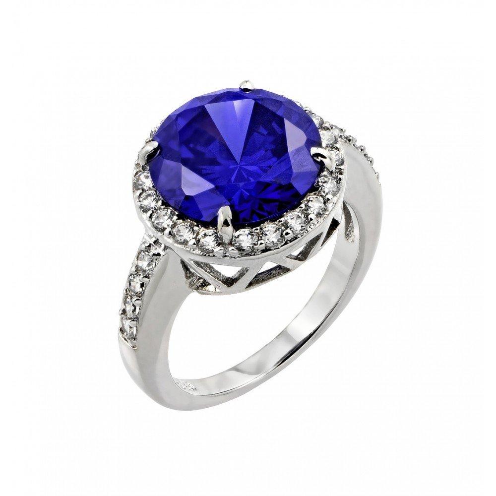 Silver Rings .925 Ladies Sterling Jewelry bgr00780 -