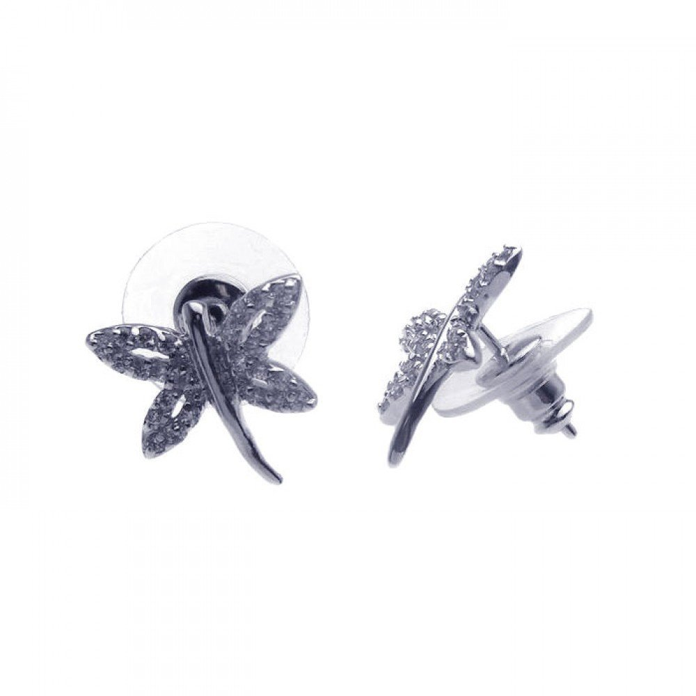 Silver Stud Earrings .925 Sterling Jewelry bge00105