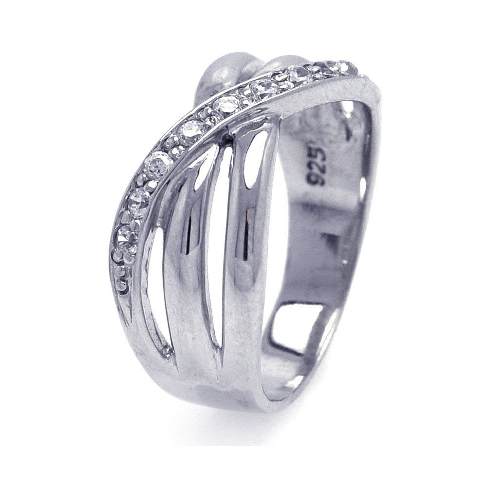 Silver Rings .925 Ladies Sterling Jewelry aar0034