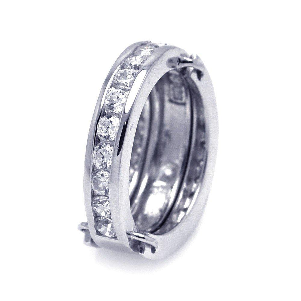 Silver Rings .925 Ladies Sterling Jewelry aar0007
