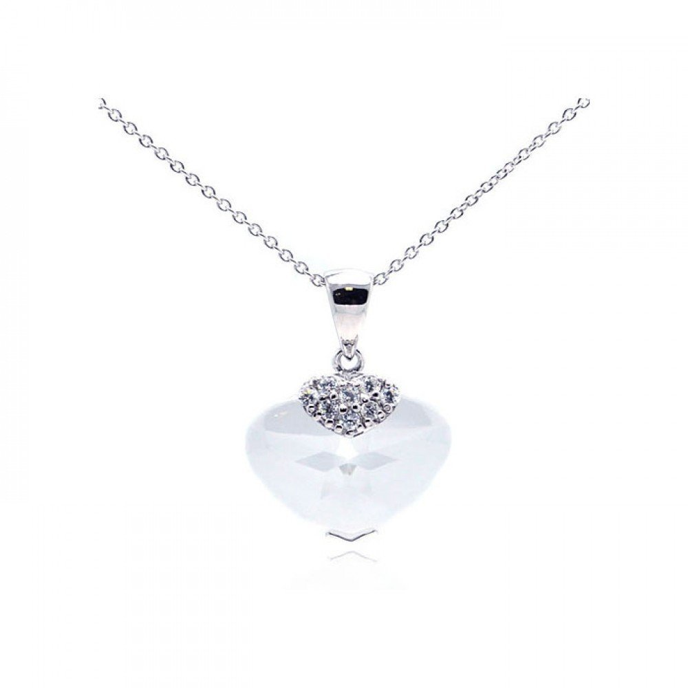 Silver Necklace .925 Ladies Sterling Jewelry