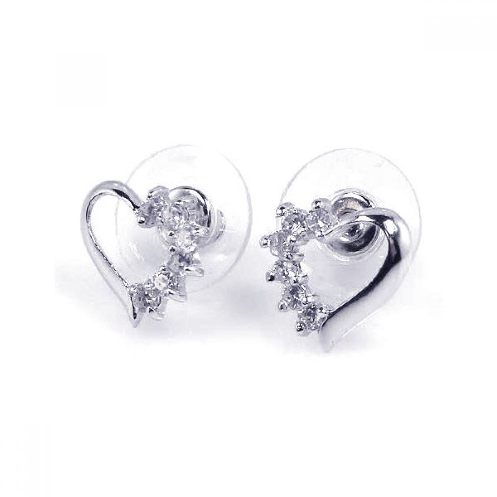 Silver Stud Earrings .925 Sterling Jewelry bge00068