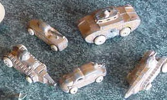 23: WWI METAL TOYS (ALL ONE LOT)