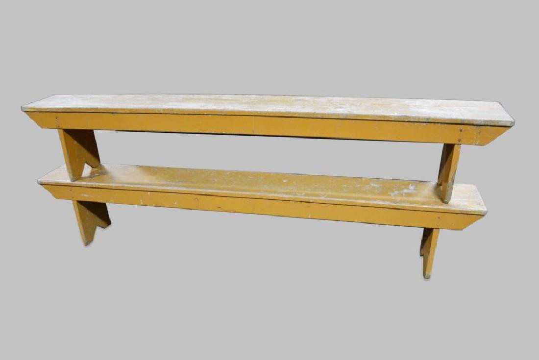 Pa. Painted Bench X2