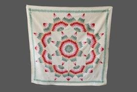 """Pa. Star Quilt 87""""  x   87"""""""