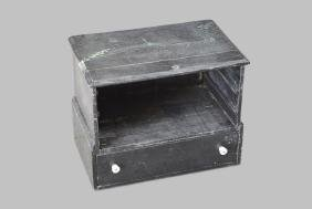 """Painted Store Cubby w/ Drawer 18""""H,   21""""L,   14""""W"""