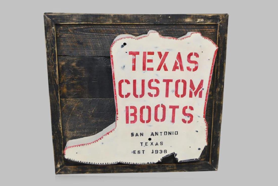 "Boot Trade Sign 46""  x   48"""