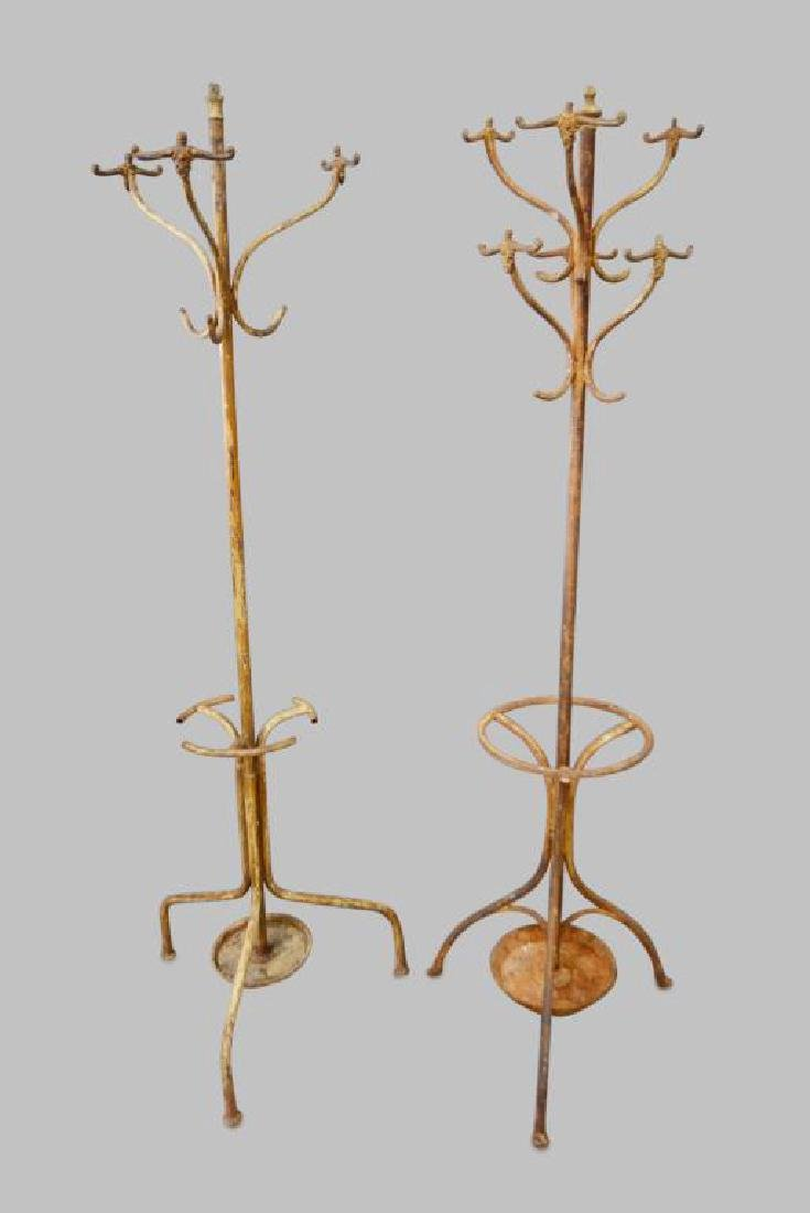 Painted French Coat Rack