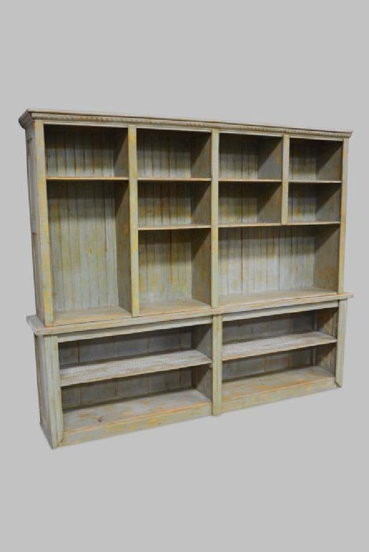 "2-Piece Painted General Store Cabinet 88""H,   106"