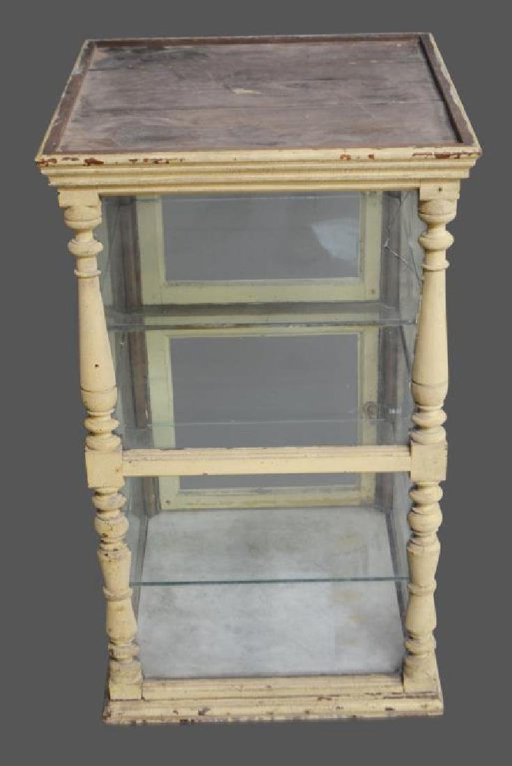 """Early French Cheese Display Case 39 1/2""""H,   23 1/2""""  x"""