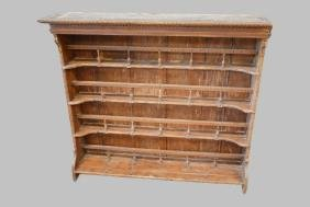 """French Plate Rack 47 1/2""""H,   53""""L,   12""""W"""