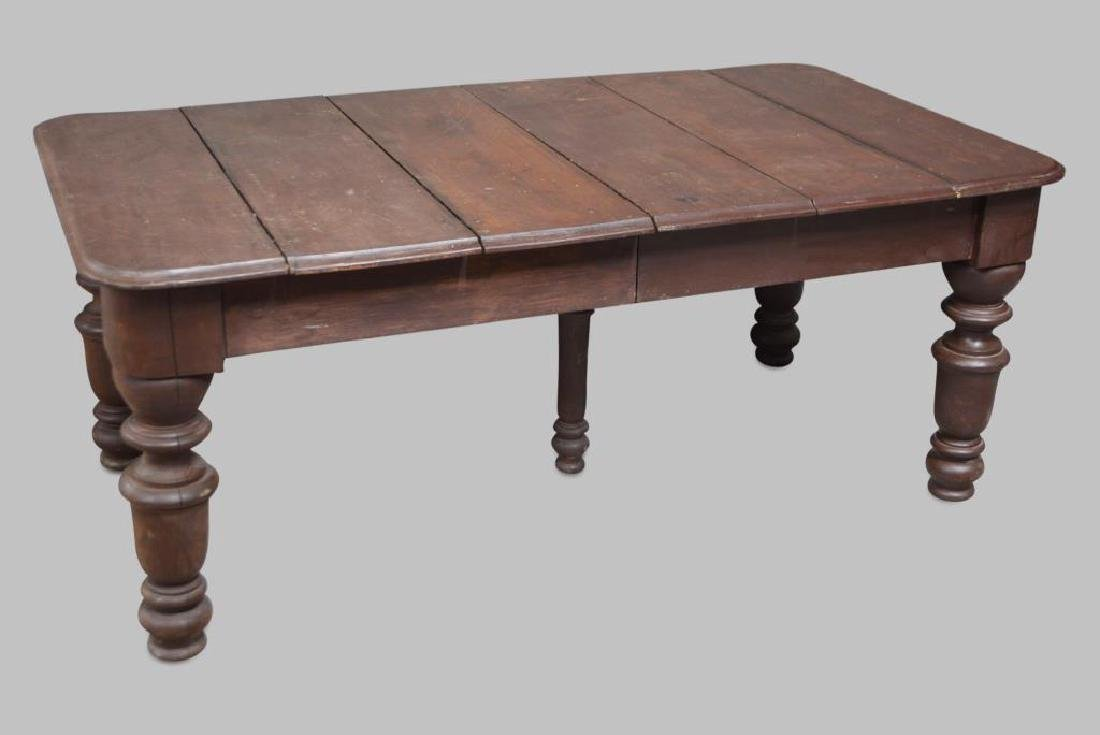 """Dinning Room Table 29 1/4""""H,   73""""L,   42""""W"""