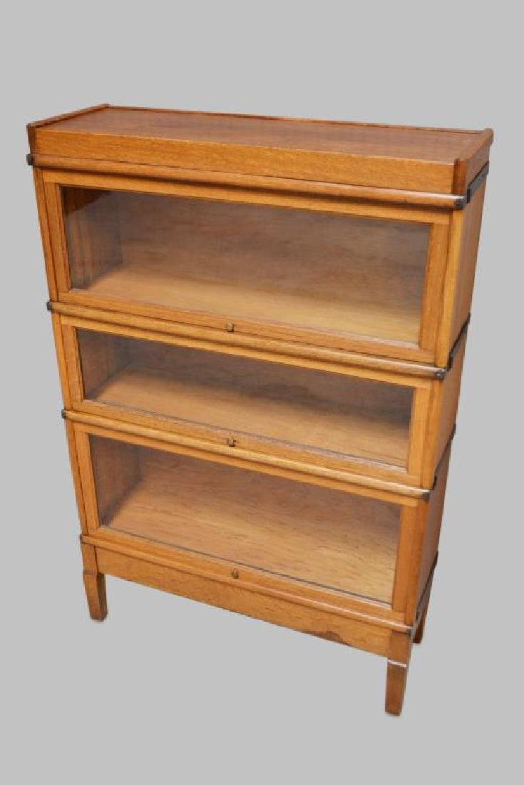 "Lawyer's Stackable Bookcase 51""H,   34""L,   11""W"