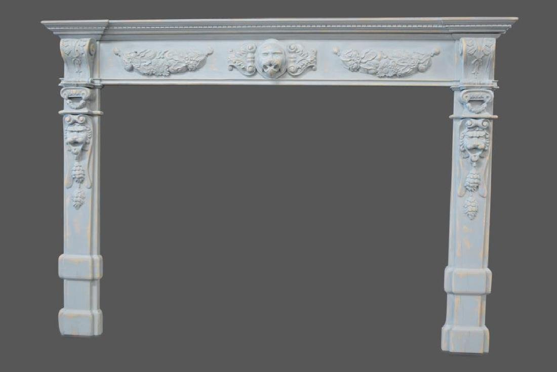 """Painted Architectural Mantle 65 1/2""""  x   93 1/2"""""""