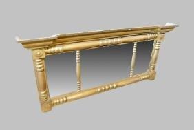 """Gold Gilt Empire Mirror 30""""  x   65"""""""